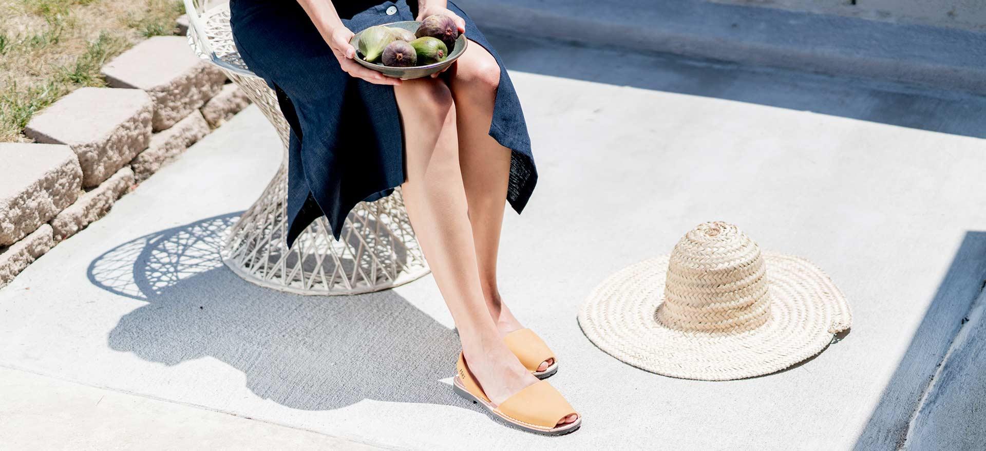 In Leather Avarca Handmade Avarcas By Spain Usa Pons Sandals LA435Rqj