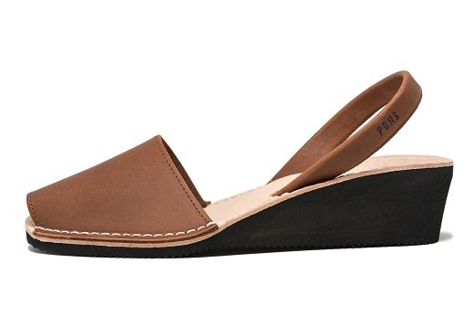 Wedge Brown Avarcas