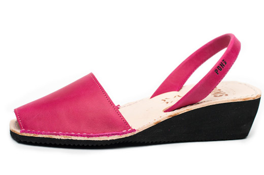 Wedge Fuchsia Avarcas