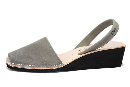 Wedge Gray Avarcas