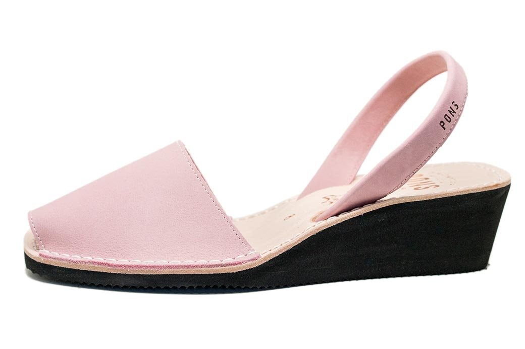 Wedge Light Pink Avarcas