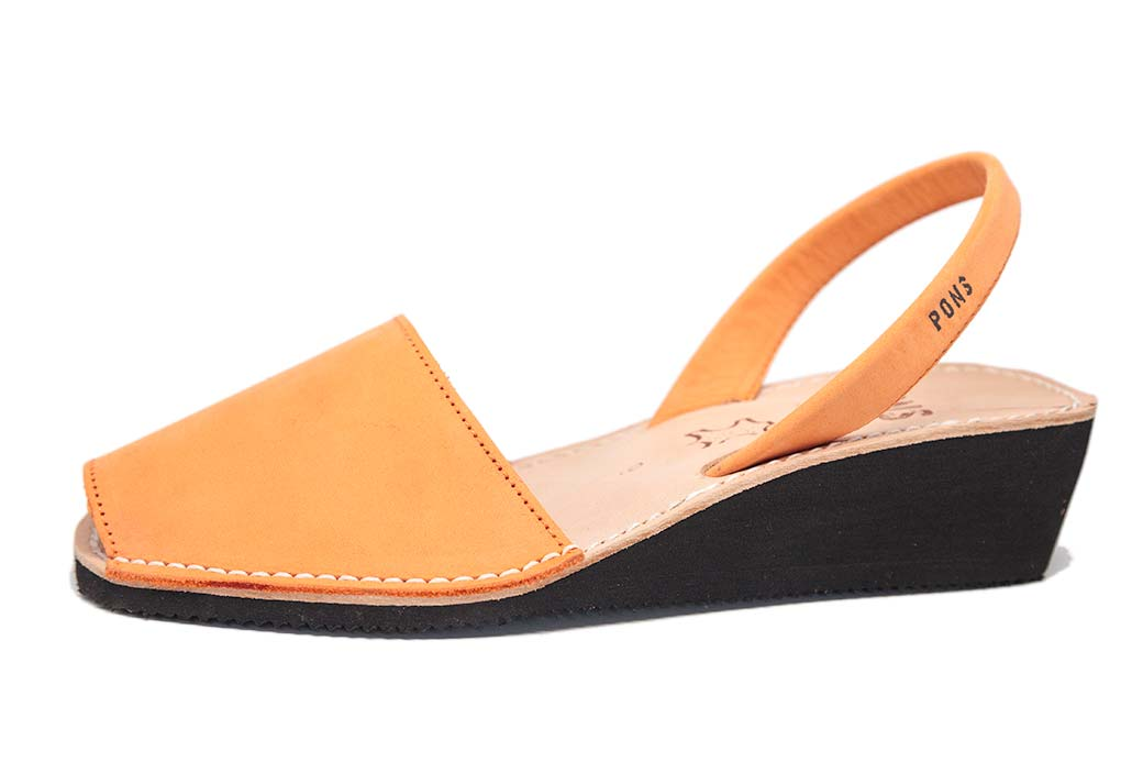 Wedge Peach Avarcas
