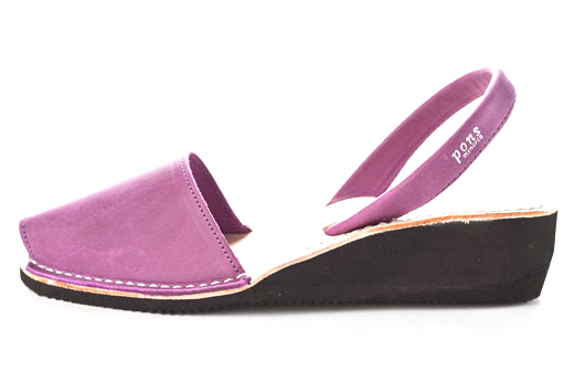 Wedge Purple Avarcas