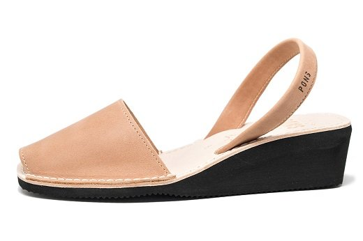 Wedge Tan Avarcas