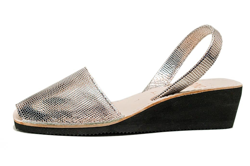 Wedge Metallic Cava Avarcas