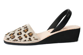 Wedge Animal Prints Leopard