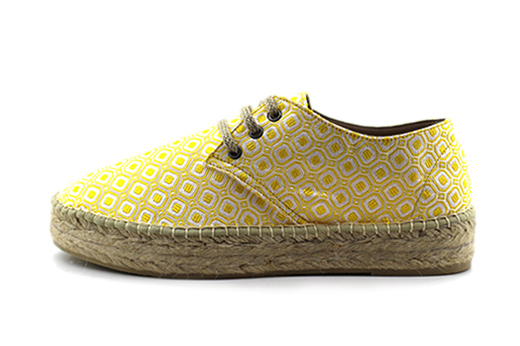 Outlet FINAL SALE - Classic Platform Squares Yellow