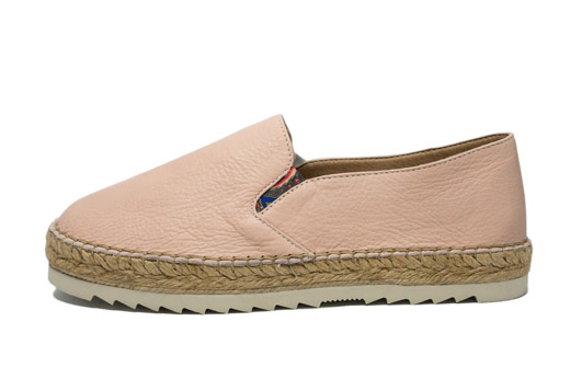 Outlet - Platform Top Pink Espadrille