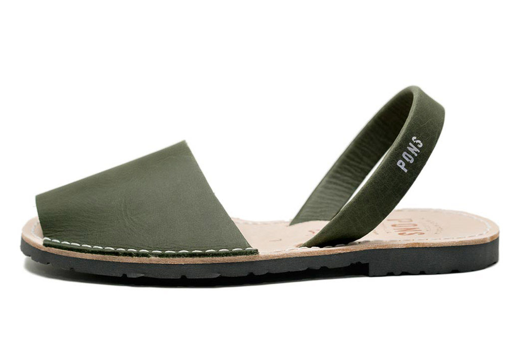 Classic Style Women Forest Green Avarcas