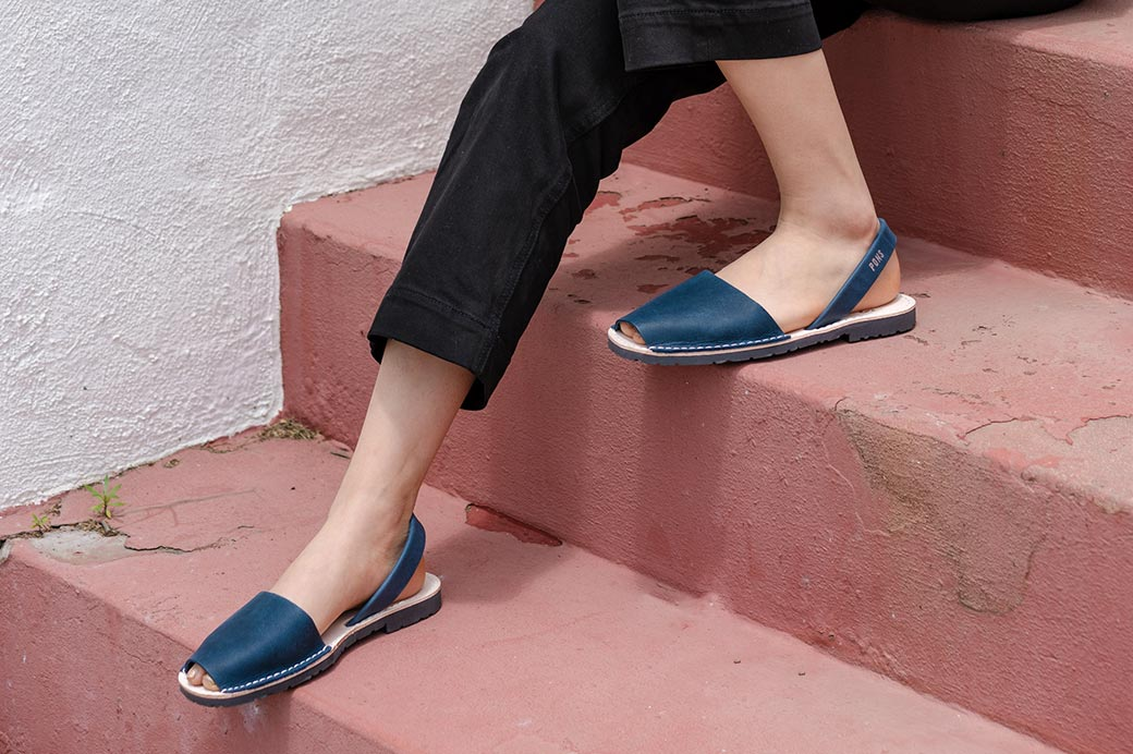 Classic Style Women French Blue