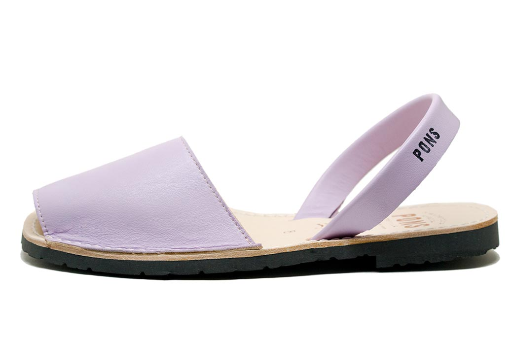 Classic Style Women Lilac Avarcas