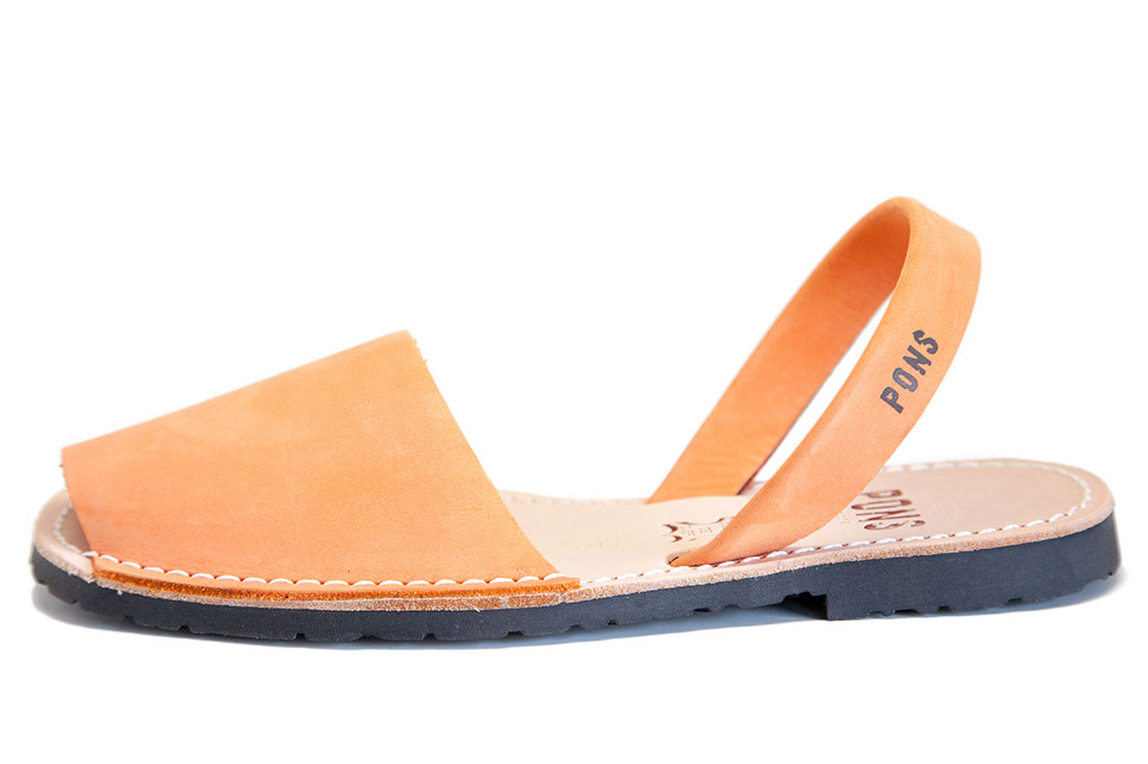 Outlet-Classic Style Women Peach Avarca