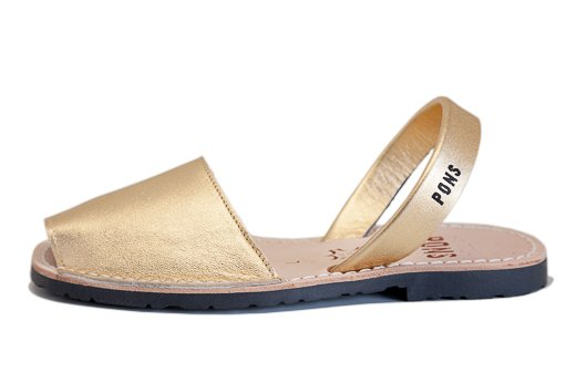 Outlet - Classic Style Metallic Gold Avarca