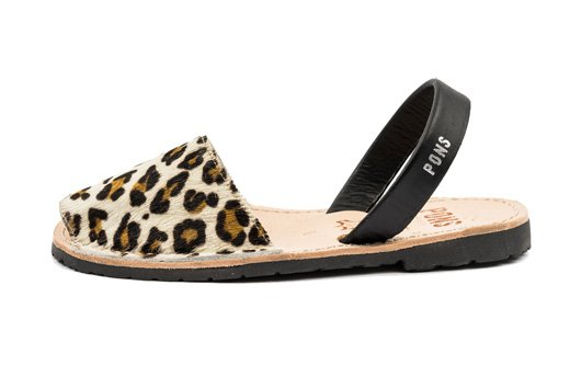 Outlet - Classic Style Animal Prints Leopard Avarca