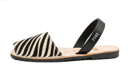 Outlet - Classic Style Animal Prints Zebra Avarca