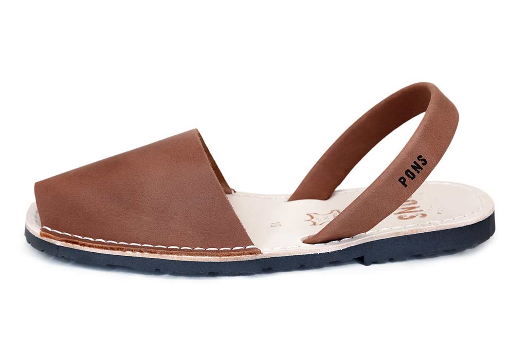 Outlet - Classic Style Men Brown Avarca