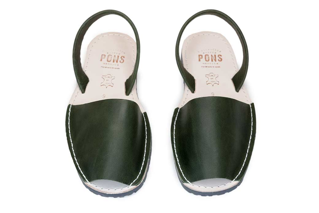 1f8ac62cf75 Classic Style Men Forest Green Avarca