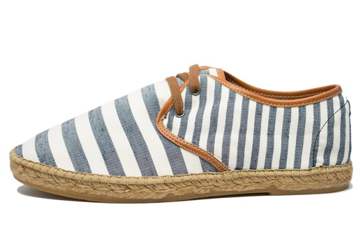Classic Stripes Men Black Stripes Espadrille