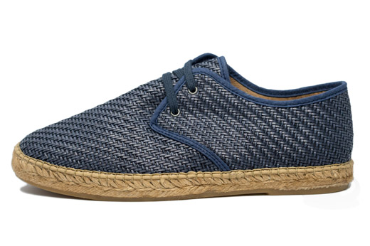 Classic Tangled Men Blue Jeans Espadrille