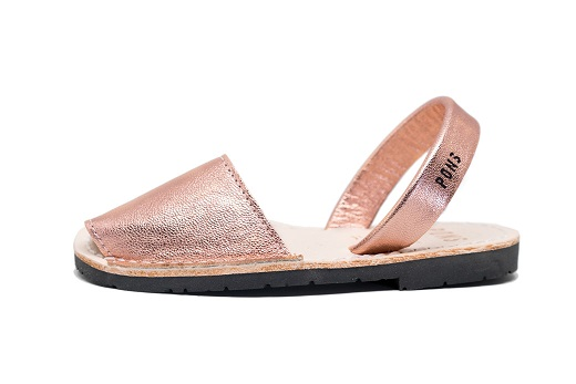 242554119ee2 Classic Style Kids Metallic Rose Gold Avarca